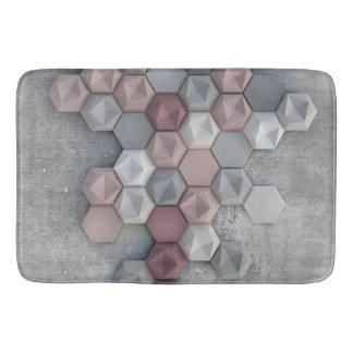 """Tapis de bain architectural d'hexagones 24"""" l X"""