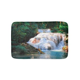 Tapis De Bain Automne tropical de forêt tropicale