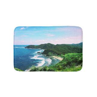 Tapis De Bain Baie tropicale d'île