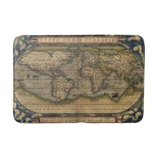 Tapis De Bain Carte antique du monde