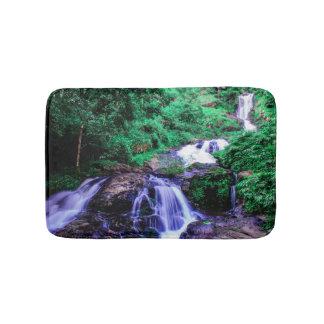 Tapis De Bain Cascade tropicale de rivière de forêt tropicale