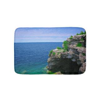 Tapis De Bain Caverne tropicale de mer