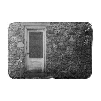Tapis De Bain Cette vieille gamme de gris de mur de roche