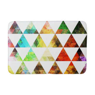 Tapis De Bain Conception de triangle peinte par graphique