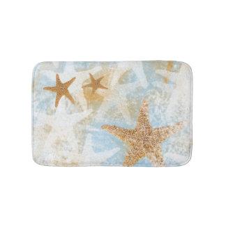 Tapis de bain côtier de l'impression | d'étoiles