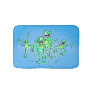 Tapis De Bain Couverture heureuse de salle de bains de