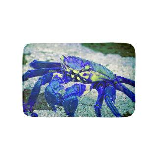 Tapis De Bain Crabe bleu rare