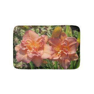 Tapis De Bain Daylilies roses de lavande doubles