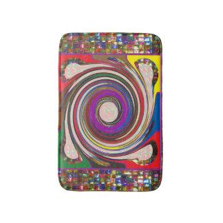 Tapis de bain de graphiques de FineArt de tapis de