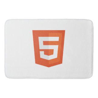 Tapis de bain de HTML