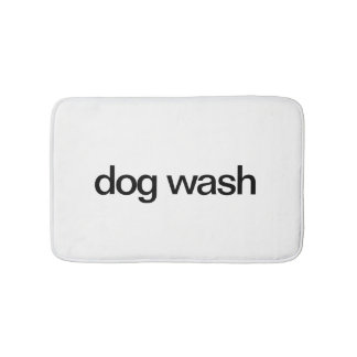 Tapis de bain de lavage de chien