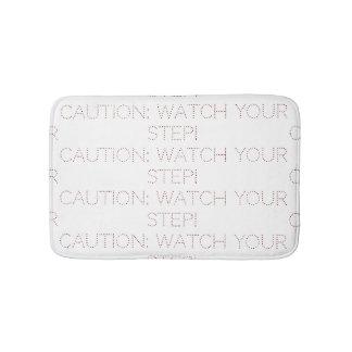 Tapis de bain de précaution