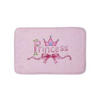 Tapis de bain de princesse