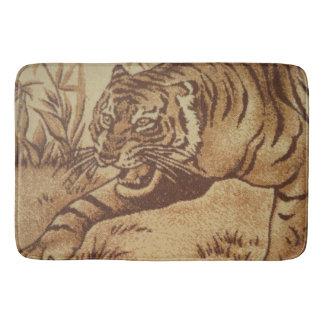 Tapis de bain de tigre
