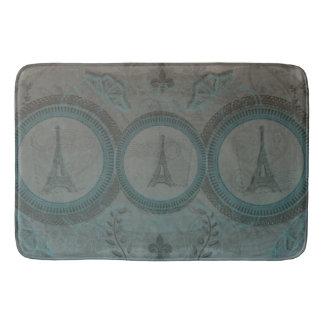 Tapis de bain de trois Tours Eiffel