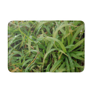 Tapis de bain d'herbe