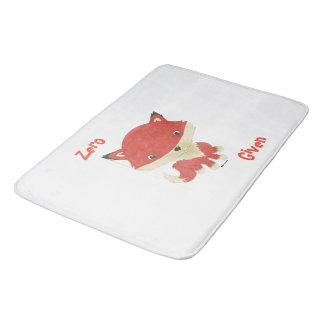 Tapis de bain donné par Fox zéro