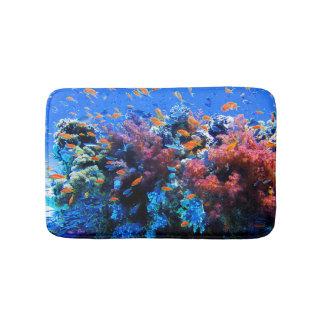 Tapis De Bain Écosystème sous-marin tropical