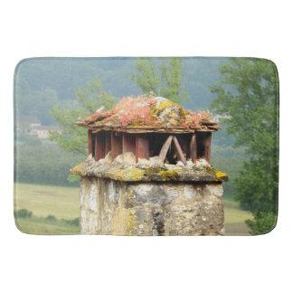 Tapis de bain français antique de cheminée
