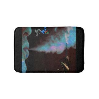 tapis de bain magique de fumée