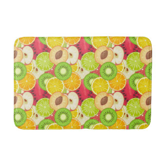 Tapis De Bain Motif coloré de fruit d'amusement