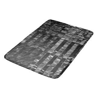 Tapis de bain Noir de cellules par l'artiste C.L.