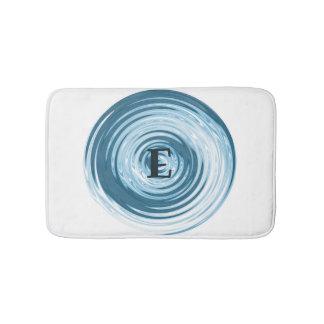 Tapis de bain personnalisable de monogramme