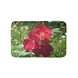Tapis De Bain Roses rouges simples