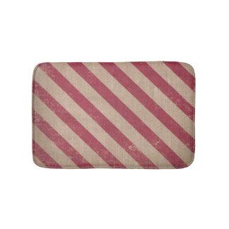 tapis de bain rouge de Noël de sucre de canne de