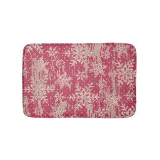 tapis de bain rustique de vacances de Noël de