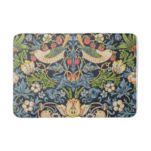 Tapis De Bain Schéma floral William Morris Strawberry Thief
