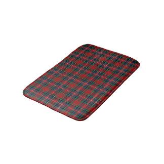 Tapis De Bain Tartan écossais rouge et bleu de MacPherson