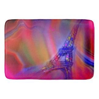 Tapis De Bain Tour Eiffel abstrait de Paris