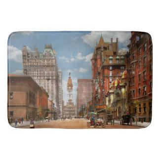 Tapis De Bain Ville - PA Philadelphie - large rue 1905