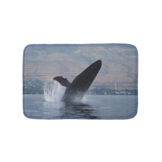 Tapis De Bain violation de baleine de bosse