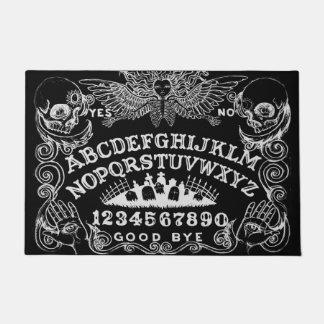 Tapis de porte de noir de conseil de sorcière