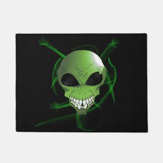 Tapis de porte étranger vert