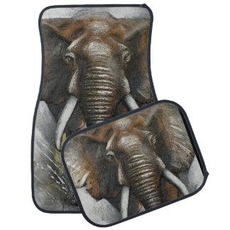 Tapis de remplissage de voiture d'éléphant tapis de voiture