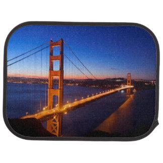 Tapis De Sol Aube au-dessus de pont de San Francisco et de