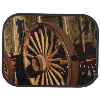 Tapis De Sol Chariot antique de train de mule