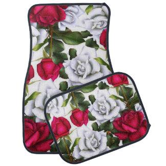 Tapis De Sol Charme moderne rustique chic minable de roses
