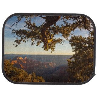 Tapis De Sol Coucher du soleil au-dessus de canyon grand