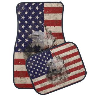 Tapis De Sol Drapeau et symboles des Etats-Unis ID155