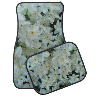 Tapis De Sol Fleurs blanches sensibles de narcisse de