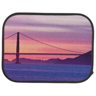 Tapis De Sol Golden gate bridge au coucher du soleil