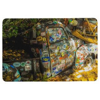 Tapis De Sol Key West est art, vieux camion pick-up