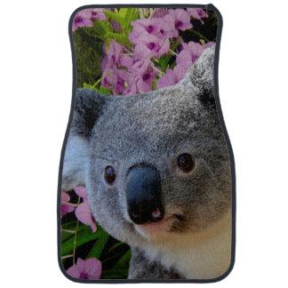 Tapis De Sol Koala et orchidées