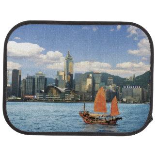 Tapis De Sol La Chine ; Hong Kong ; Port de Victoria ; Port ; A