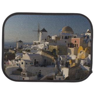 Tapis De Sol La Grèce et l'île grecque de la ville de Santorini