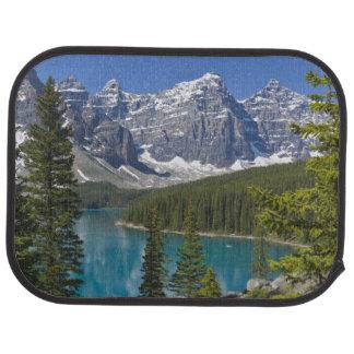 Tapis De Sol Lac moraine, Canadien les Rocheuses, Alberta,